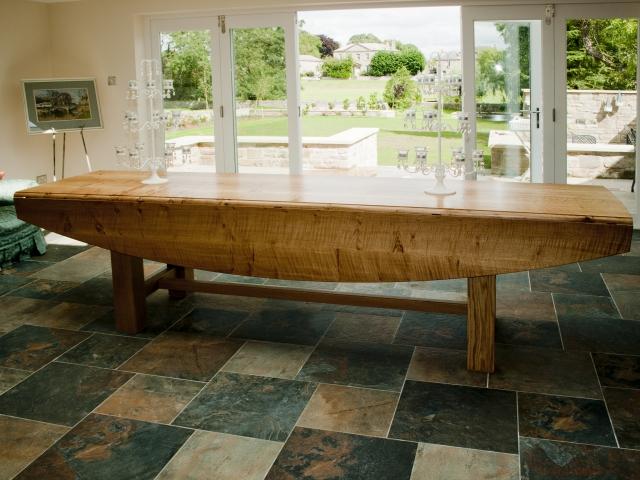 Ripple Oak Dining Table