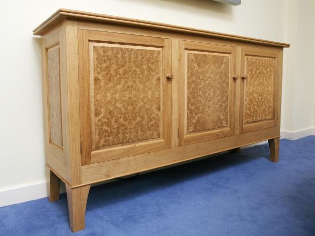 Burr Oak Sideboard