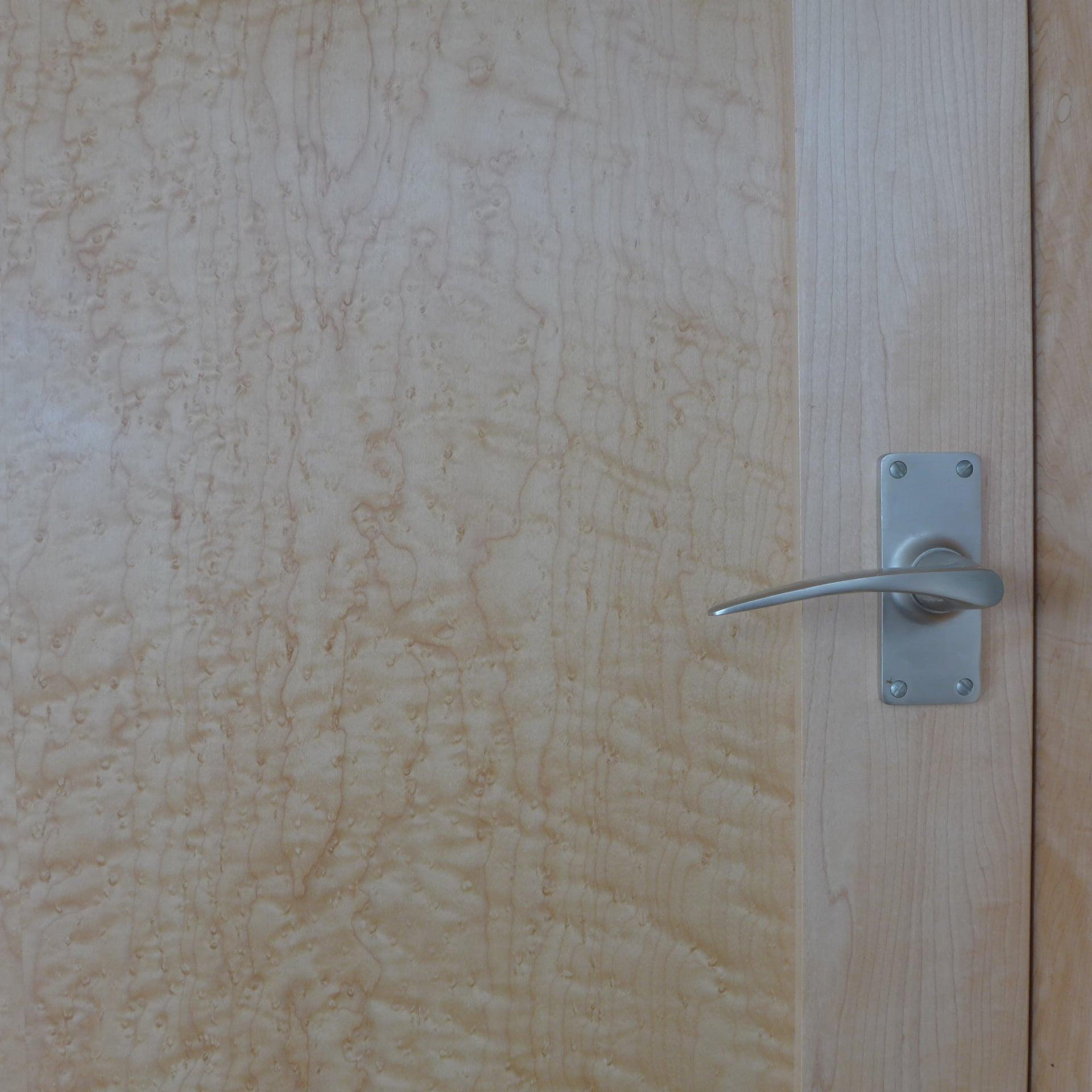 Birds Eye Maple Door