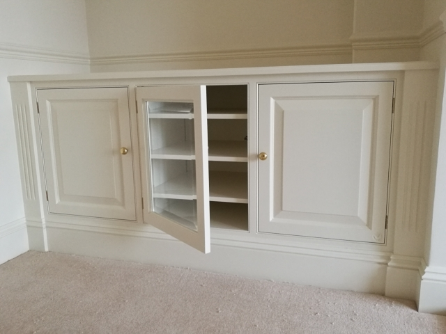 Painted Display Unit