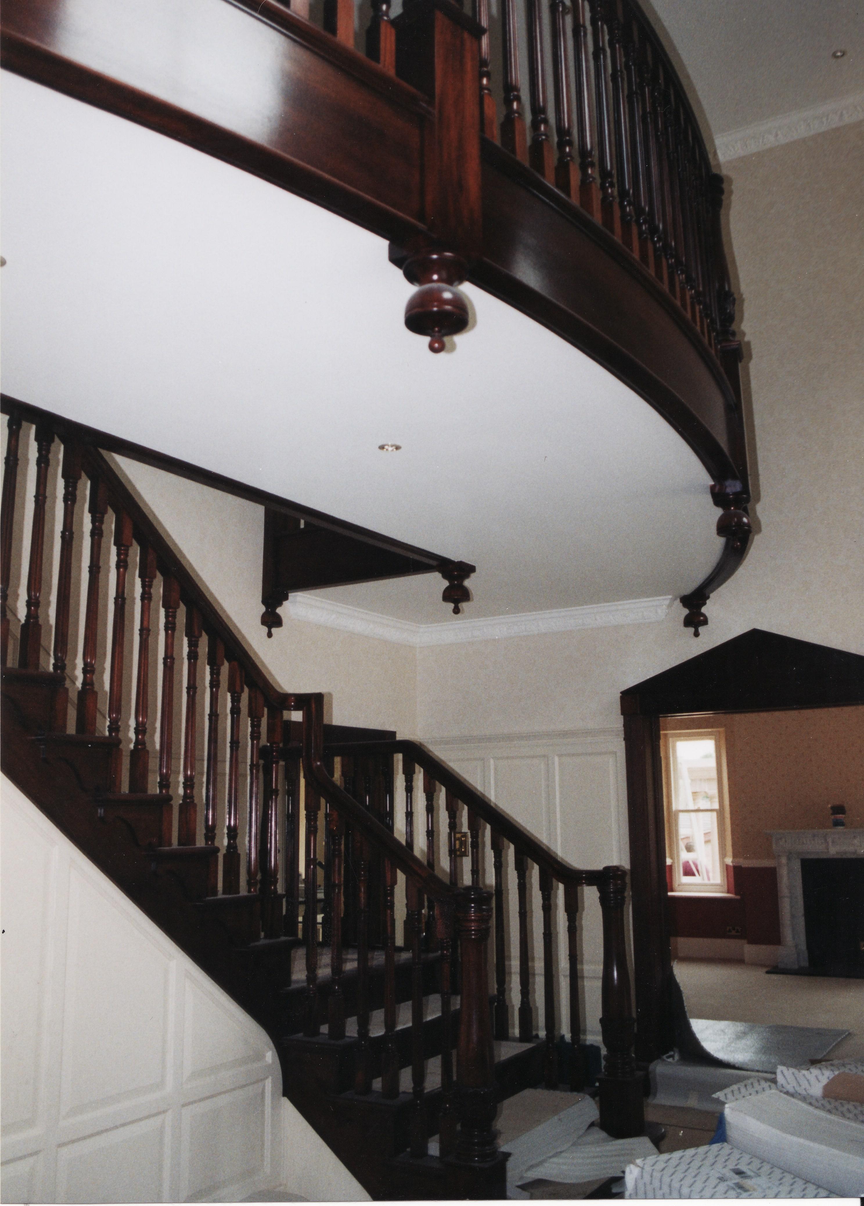 Mahogany Stairs