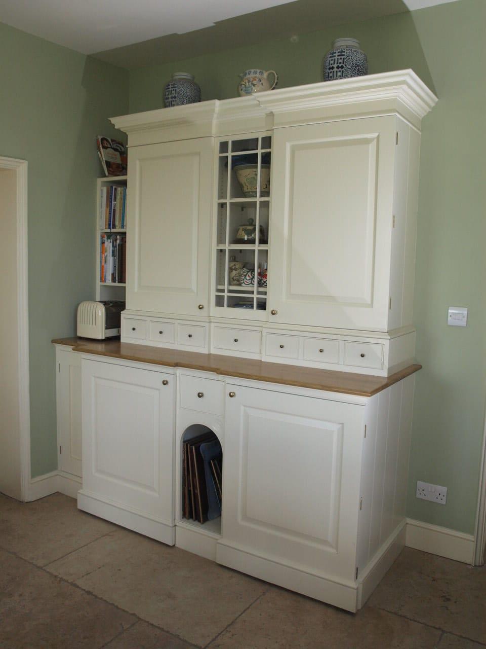 Painted Kitchen Larder Unit