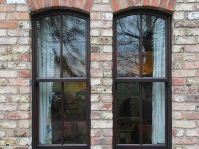 Mahogany Windows & Frames